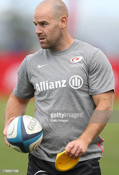 Charlie Hodgson during an Exhibition match between College Rovers and Saracens at John Smit Field Lungisisa Indlela Village on August 14 2013 in...