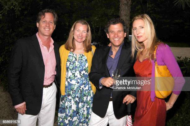 Charlie Homet Elyce Arons Andy Arons and Meredith Homet attend 9th Annual Midsummer Night Drinks at Whimsy Farm on June 13 2009 in Sagaponack NY