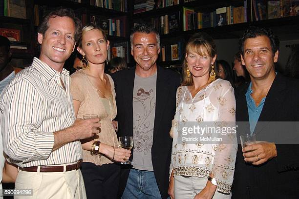 Charlie Homet Meredith Homet Ian Buchanan Alice Arons and Andy Arons attend An Evening of Short Films hosted by Jack Spade at The National Arts Club...