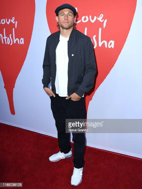 "Charlie Hunnam arrives at the Los Angeles Premiere Of Lurker Productions' ""Love, Antosha"" at ArcLight Cinemas on July 30, 2019 in Hollywood,..."