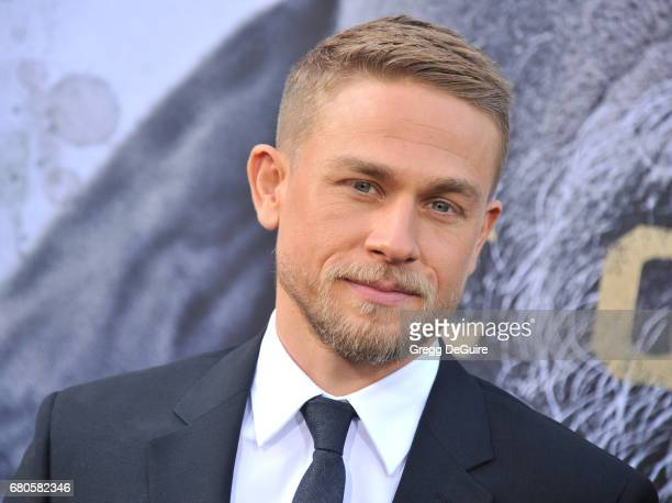 "Charlie Hunnam arrives at the premiere of Warner Bros. Pictures' ""King Arthur: Legend Of The Sword"" at TCL Chinese Theatre on May 8, 2017 in..."