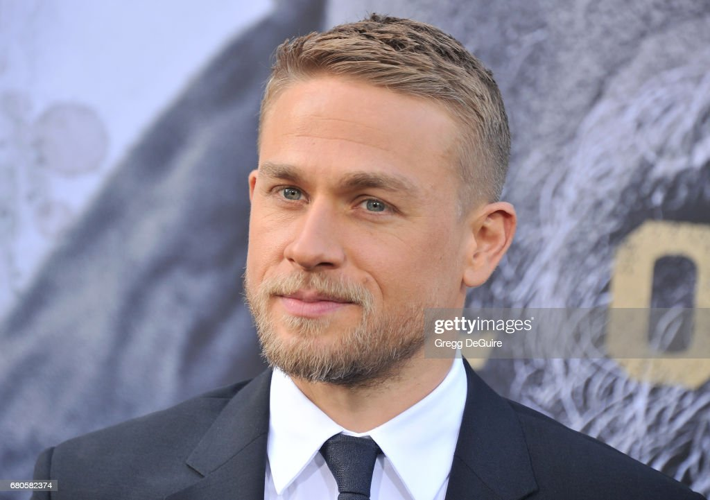 Charlie Hunnam arrives at the premiere of Warner Bros. Pictures' 'King Arthur: Legend Of The Sword' at TCL Chinese Theatre on May 8, 2017 in Hollywood, California.