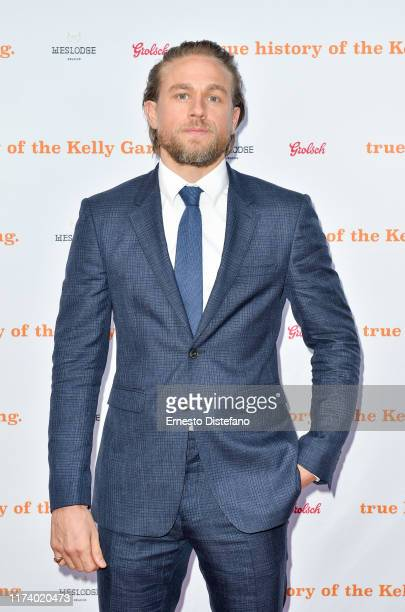 Charlie Hunnam arrives at The True History Of The Kelly Gang World Premiere Party Hosted By Grolsch at Weslodge during the Toronto International Film...