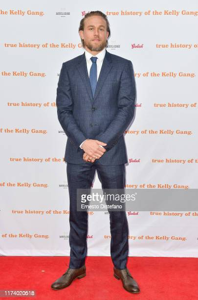 "Charlie Hunnam arrives at ""The True History Of The Kelly Gang"" World Premiere Party Hosted By Grolsch at Weslodge, during the Toronto International..."