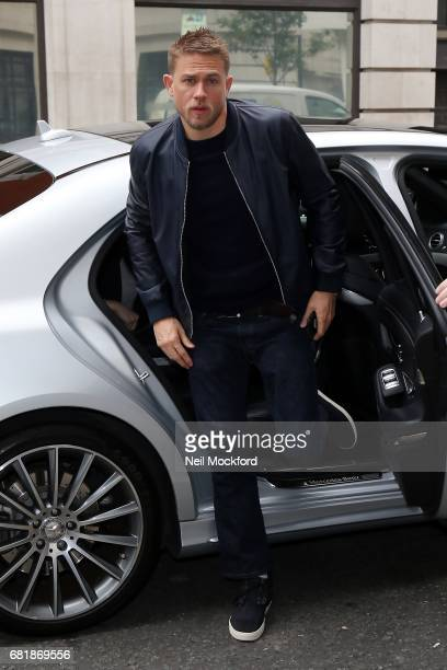 Charlie Hunnam at BBC Radio 2 on May 11 2017 in London England