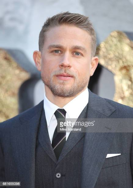 Charlie Hunnam attends the European premiere of 'King Arthur Legend of the Sword' at Cineworld Empire on May 10 2017 in London United Kingdom