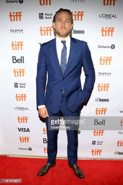 Charlie Hunnam attends the Jungleland photo call during the 2019 Toronto International Film Festival at Princess of Wales Theatre on September 12...