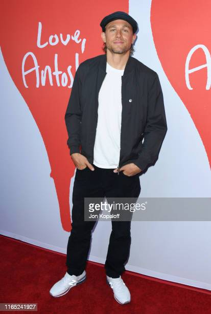 "Charlie Hunnam attends the Los Angeles Premiere Of Lurker Productions' ""Love, Antosha"" at ArcLight Cinemas on July 30, 2019 in Hollywood, California."