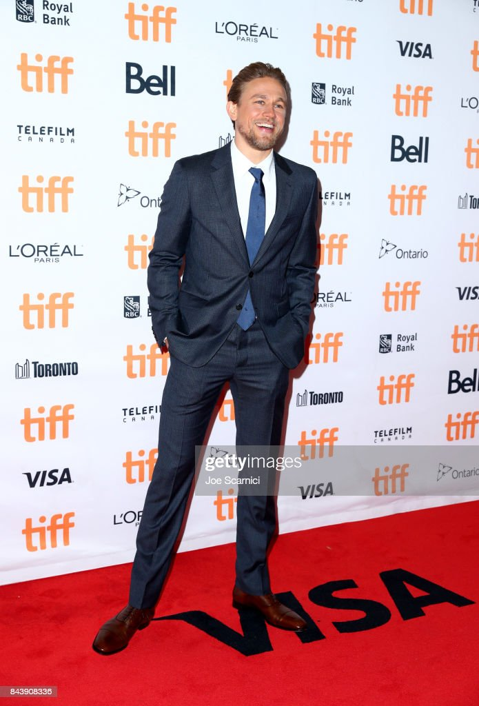 Charlie Hunnam attends the 'Papillon' premiere during the 2017 Toronto International Film Festival at Princess of Wales Theatre on September 7, 2017 in Toronto, Canada.
