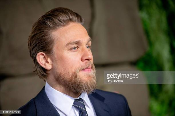 "Charlie Hunnam attends the ""Triple Frontier"" World Premiere at Jazz at Lincoln Center on March 03, 2019 in New York City."
