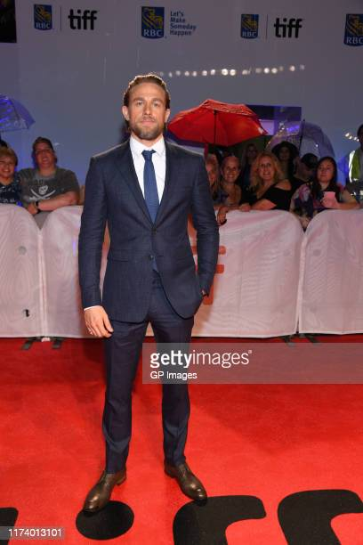"Charlie Hunnam attends the True History Of Kelly Gang"" premiere during the 2019 Toronto International Film Festival at Roy Thomson Hall on September..."