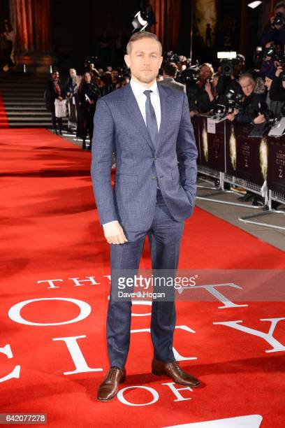 Charlie Hunnam attends the UK premiere of The Lost City of Z at British Museum on February 16 2017 in London England