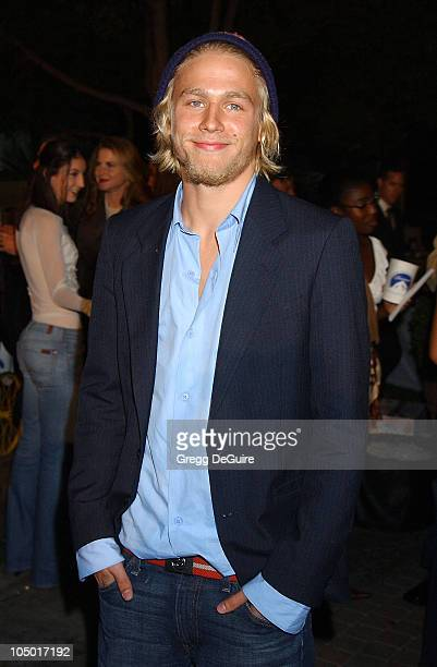 Charlie Hunnam during Abandon Premiere Los Angeles at Paramount Studios in Los Angeles California United States