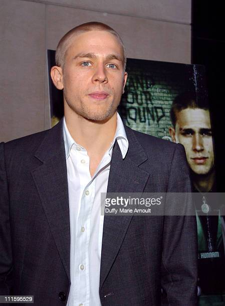 Charlie Hunnam during Green Street Hooligans New York Premiere at Union Square Stadium 14 in New York City New York United States
