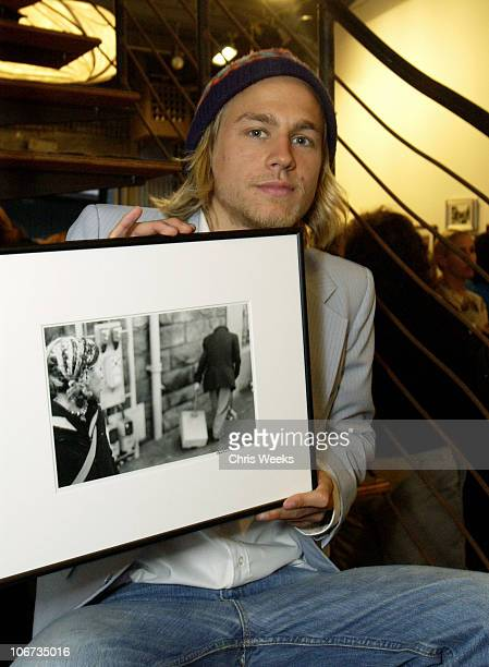 Charlie Hunnam during 'Life's Not Still' Benefiting the Huckleberry Fund at Bergamot Station in Santa Monica California United States