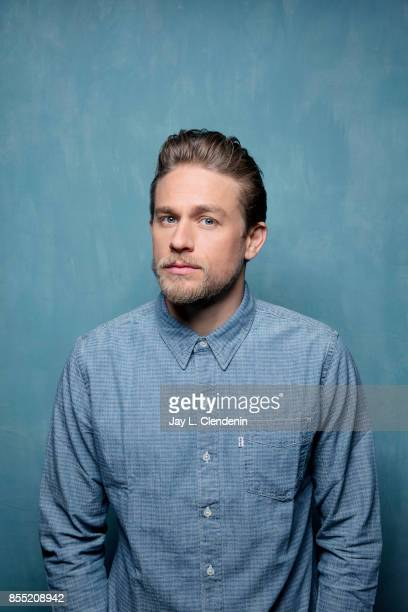 "Charlie Hunnam, from the film ""Papillon,"" poses for a portrait at the 2017 Toronto International Film Festival for Los Angeles Times on September 8,..."