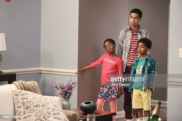 """Charlie in Charge"""" - While Dre and Bow take Zoey on a trip to visit Bow's alma mater, Brown University, Dre battles with his fear of flying through a..."""