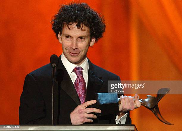 Charlie Kaufman accepts the award for Best Original Screenplay
