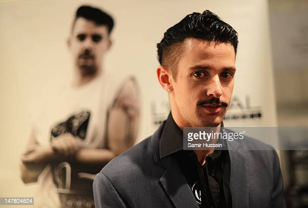 Charlie Le Mindu is seen backstage prior the Dimitri Show during MercedesBenz Fashion Week Spring/Summer 2013 on July 4 2012 in Berlin Germany