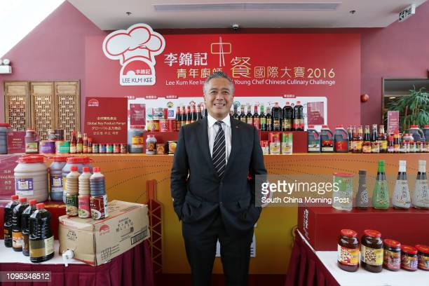 Charlie Lee Waichung chairman of Lee Kum Kee sauces poses for a picture at Chinese Culinary Institute in Pok Fu Lam 28SEP16 SCMP / Jonathan Wong