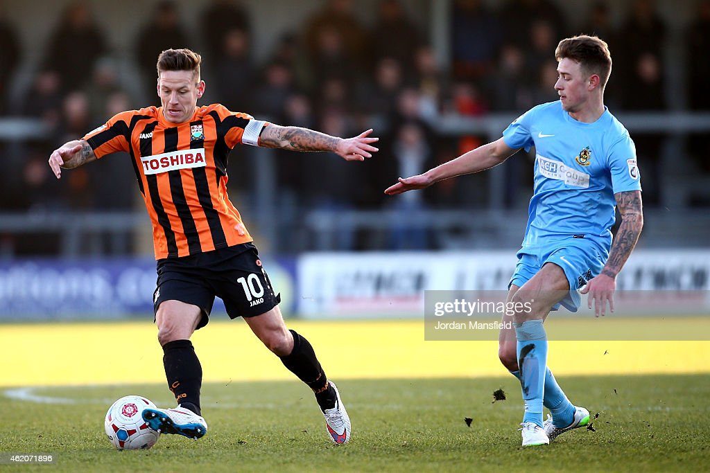 Barnet v Southport - Vanarama Football Conference League : News Photo