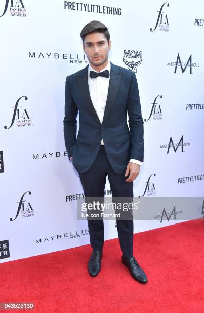 Charlie Matthews attends The Daily Front Row's 4th Annual Fashion Los Angeles Awards at Beverly Hills Hotel on April 8 2018 in Beverly Hills...