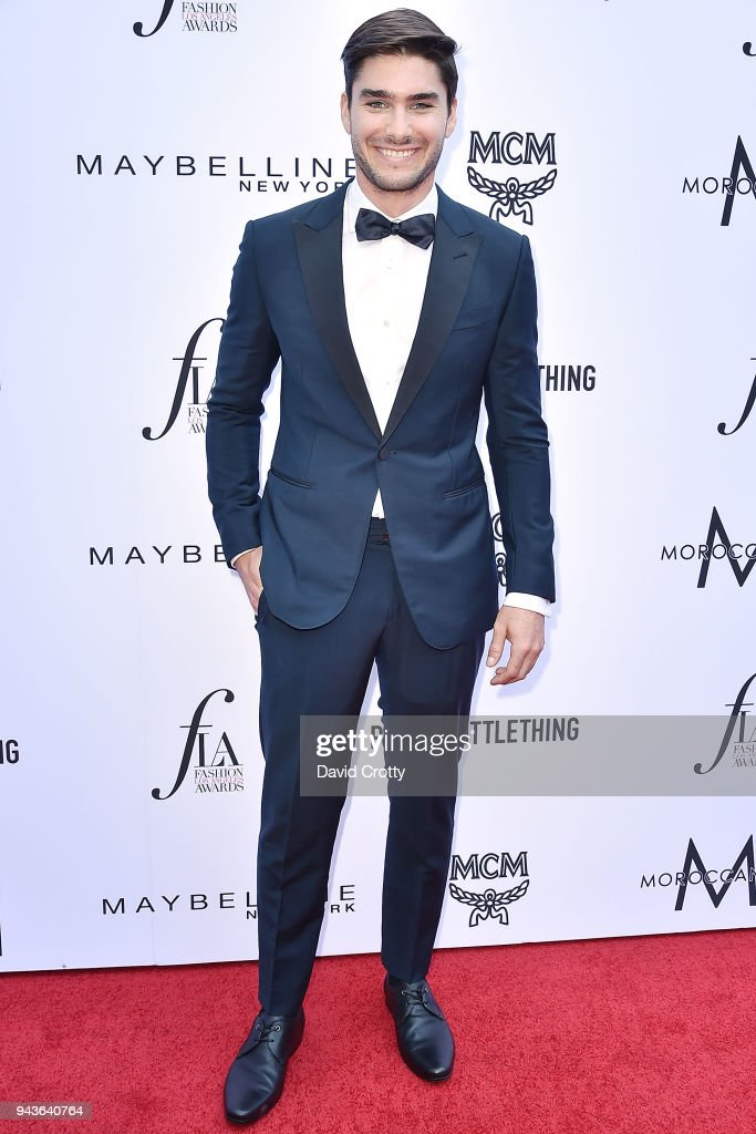 Charlie Matthews attends The Daily Front Row's 4th Annual Fashion Los Angeles Awards - Arrivals at The Beverly Hills Hotel on April 8, 2018 in Beverly Hills, California.
