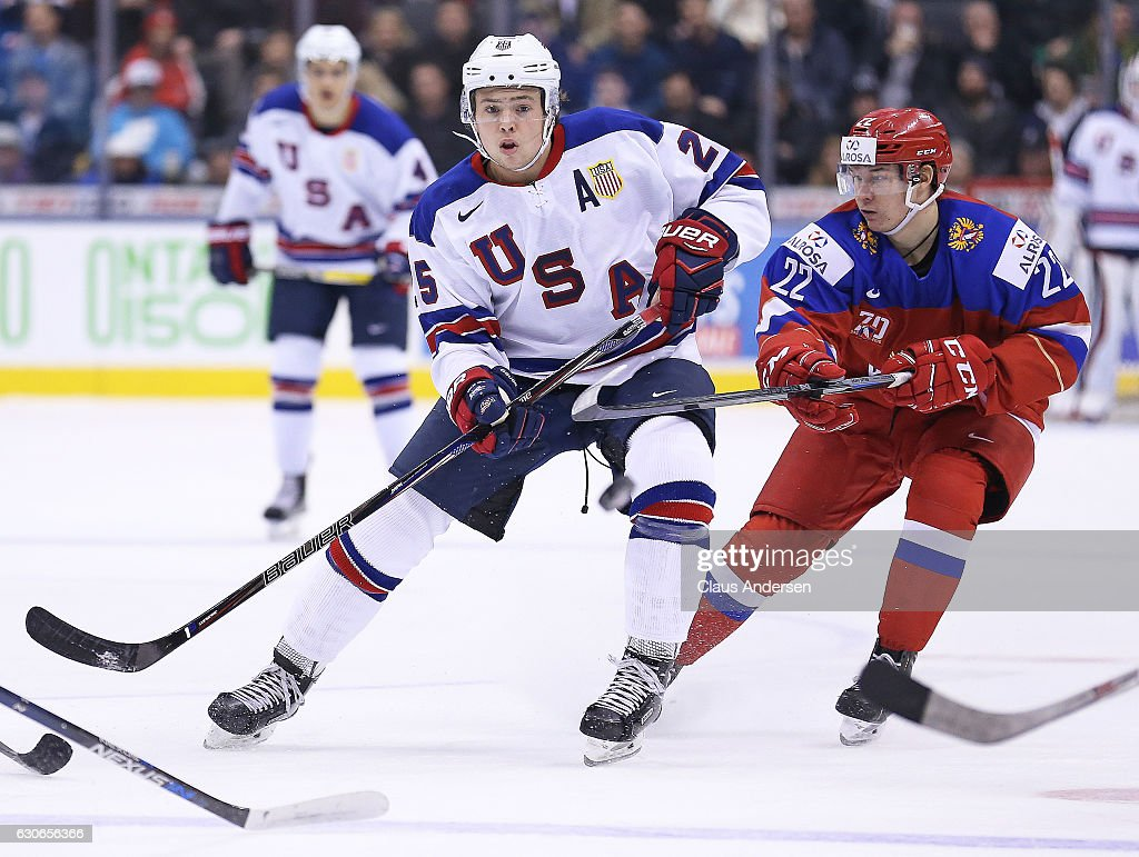 USA v Russia - 2017 IIHF World Junior Championships : News Photo