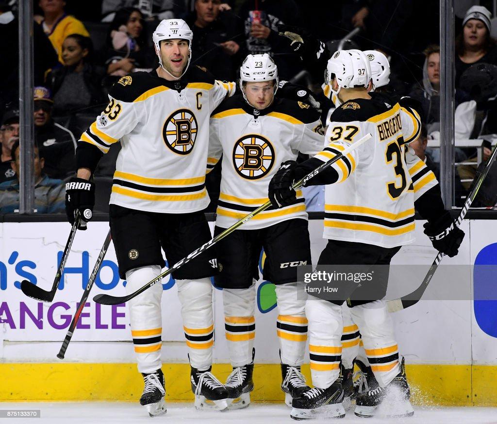 Boston Bruins v Los Angeles Kings : News Photo