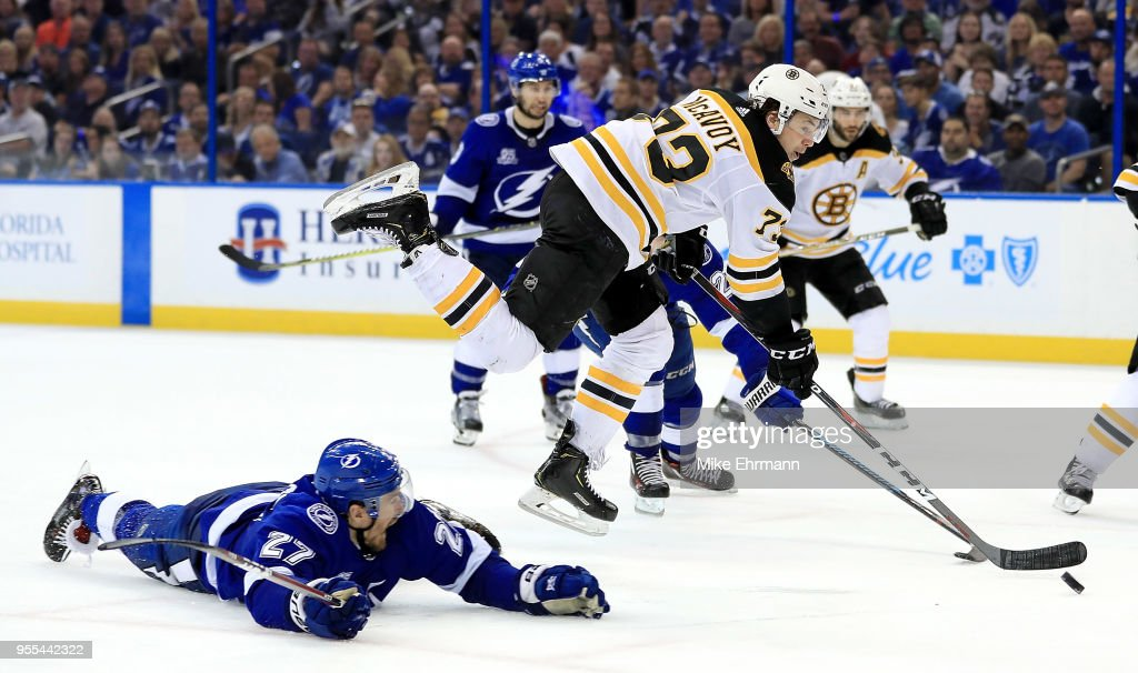 Boston Bruins v Tampa Bay Lightning - Game Five : News Photo