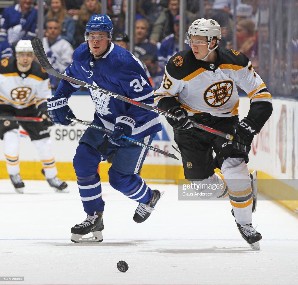 Boston Bruins v Toronto Maple Leafs - Game Three : News Photo