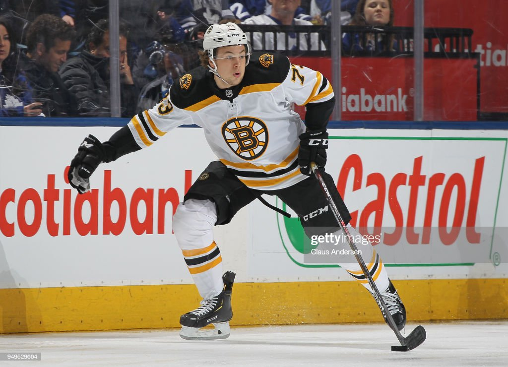 Boston Bruins v Toronto Maple Leafs - Game Four : News Photo