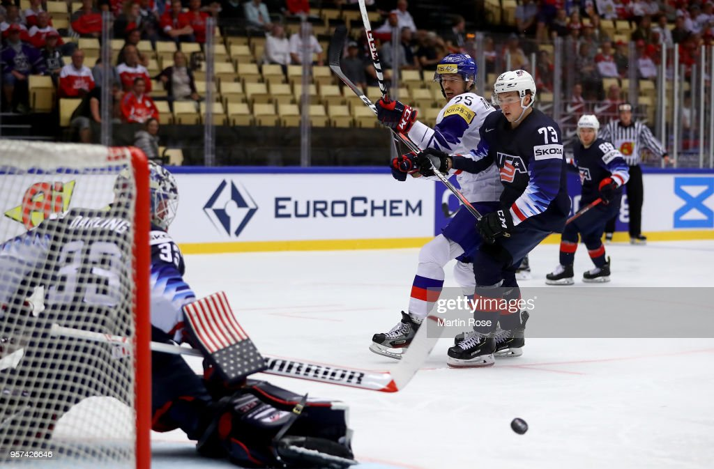 United States v Korea - 2018 IIHF Ice Hockey World Championship : News Photo