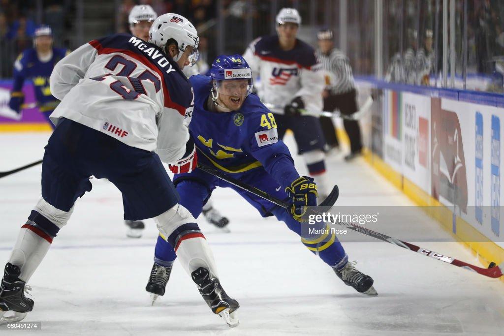USA v Sweden - 2017 IIHF Ice Hockey World Championship