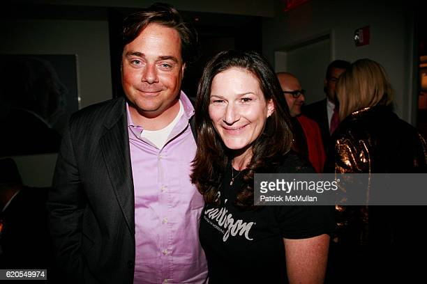 """Charlie McKittrick and Ana Gasteyer attend THE CINEMA SOCIETY & NARS Host the After Party for """"THE WOMEN"""" at Grammercy Park Hotel on September 11,..."""
