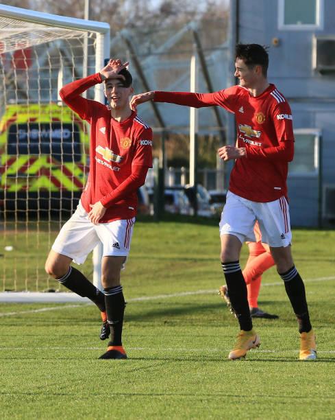 GBR: Manchester United v Leeds United: U18 Premier League