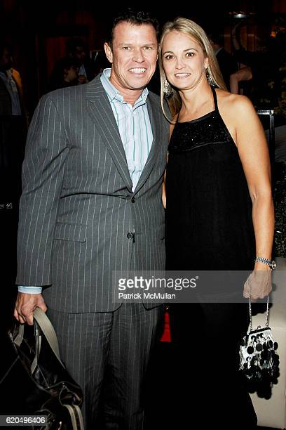 Charlie McNiff and Lori Flynn attend EVERYDAY HEALTH 2nd Anniversary Party at Hudson Terrace on September 25 2008 in New York City