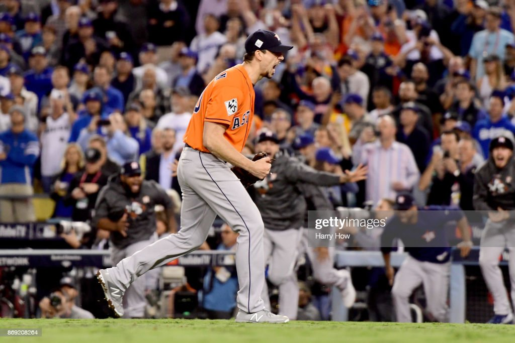 World Series - Houston Astros v Los Angeles Dodgers - Game Seven