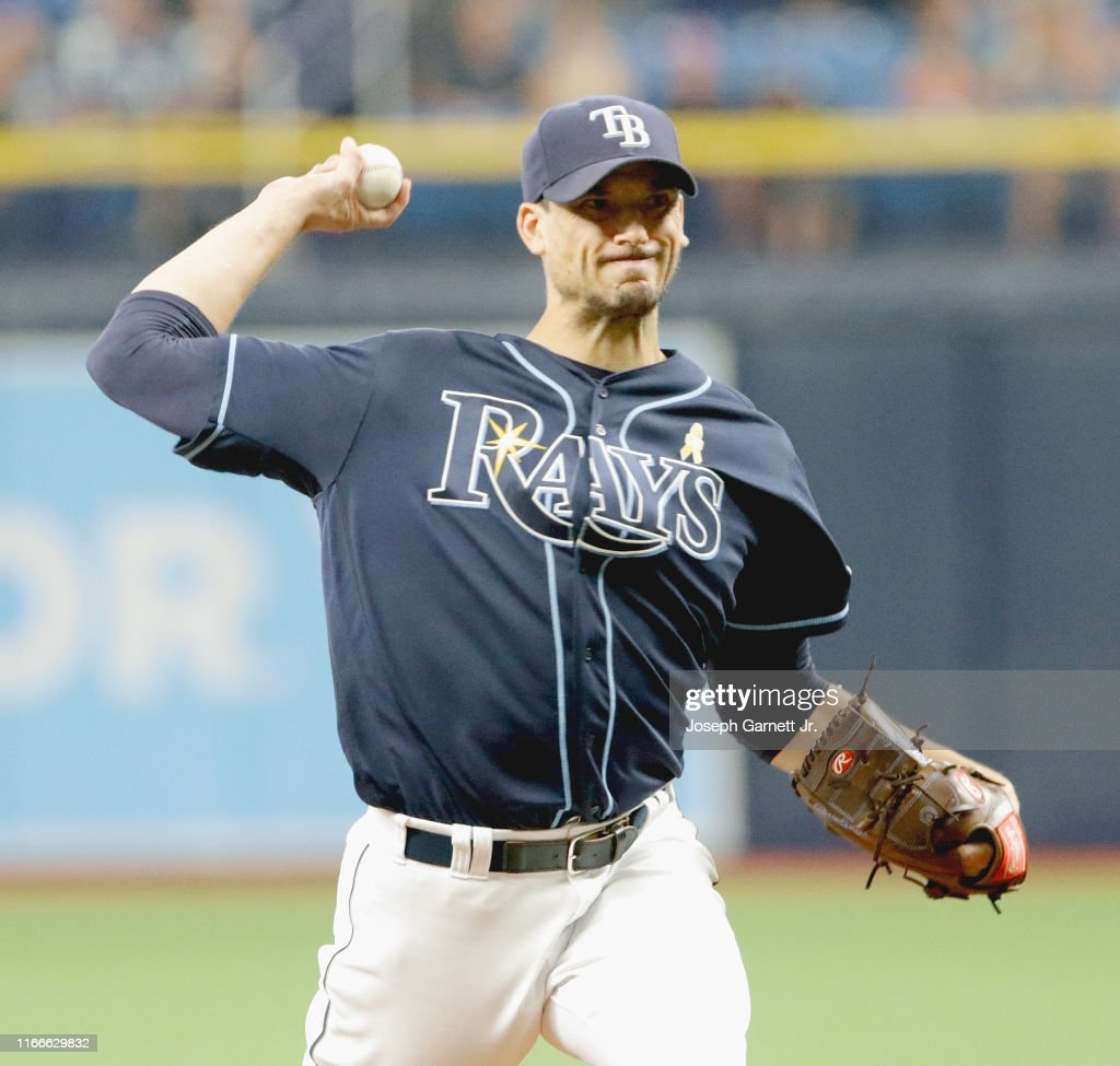 charlie morton of the tampa bay rays delivers a pitch during the top news photo getty images 2