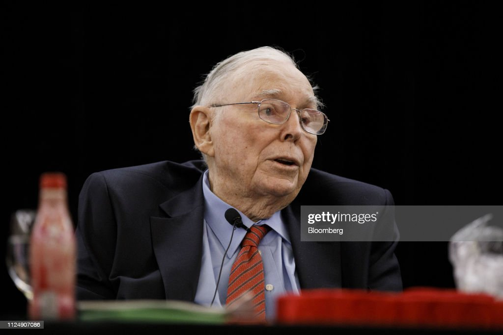 CA: Berkshire Hathaway Vice Chairman Charles Munger Speaks At Daily Journal's Annual Meeting