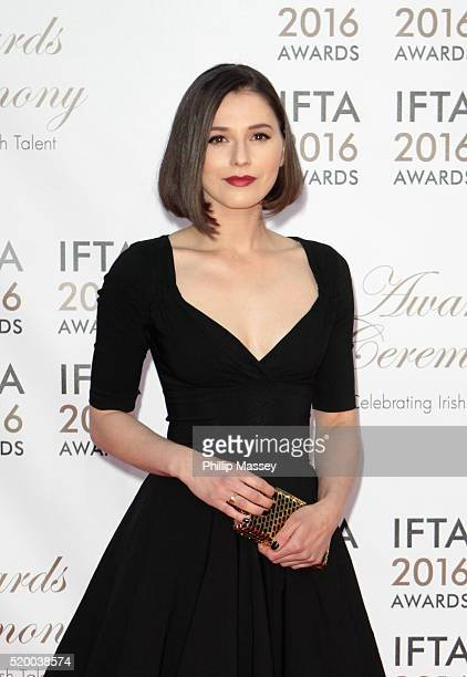 Charlie Murphy attends the 2016 IFTA Film Drama Awards at Mansion House on April 9 2016 in Dublin Ireland