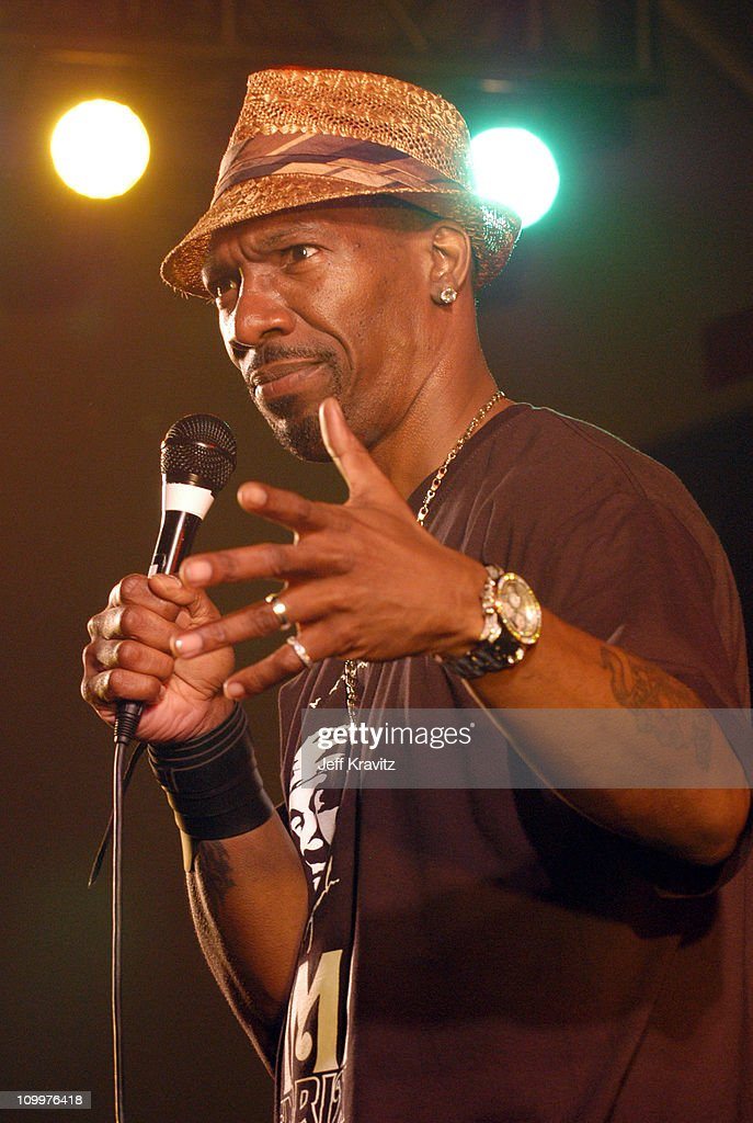 Charlie Murphy during 2005 Bonnaroo - Pre-Festivities - Charlie Murphy at Yet Another Comedy Tent in Manchester, Tennessee, United States.