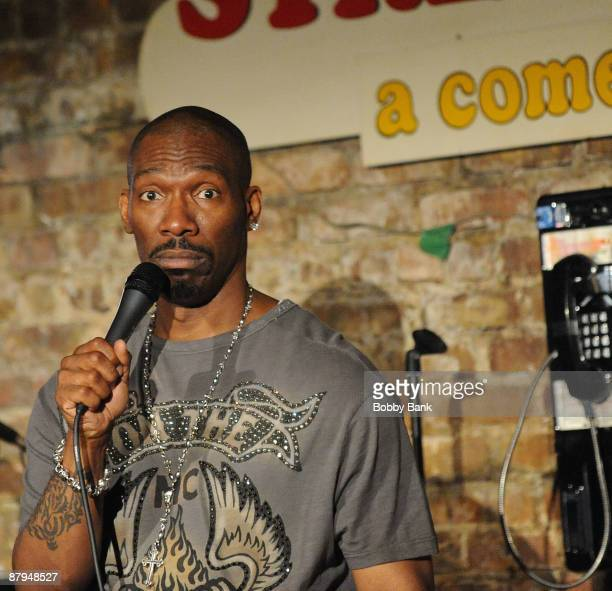 Charlie Murphy performs as he headlines at The Stress Factory Comedy Club on May 23 2009 in New Brunswick New Jersey