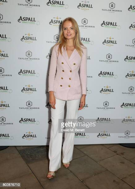 Charlie Newman attends the Taylor Morris Eyewear x Aspall Tennis Classic Player's Party at Bluebird Chelsea on June 28 2017 in London England