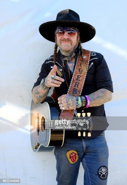 Charlie Overbey poses during 2018 Stagecoach California's Country Music Festival at the Empire Polo Field on April 27 2018 in Indio California