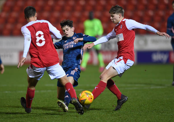 GBR: Rotherham U18 v Arsenal 18: FA Youth Cup 3rd Round