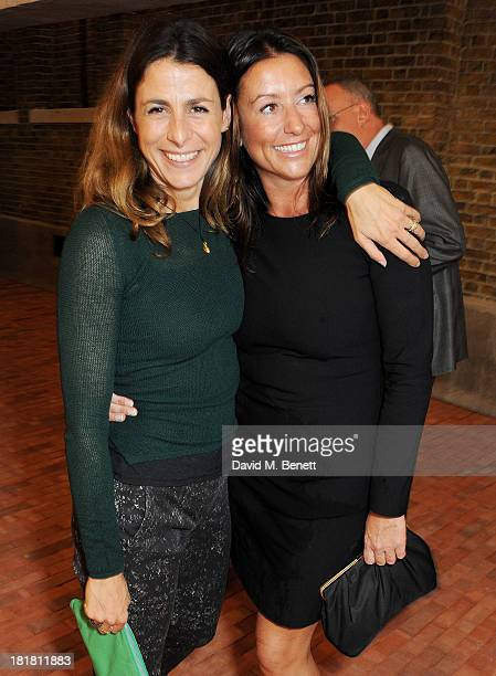 Charlie Peyton Polizzi and Alex Polizzi attend the VIP opening of the Serpentine Sackler Gallery and the launch of their autumn exhibitions on...