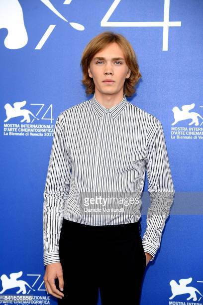 Charlie Plummer attends the 'Lean On Pete' photocall during the 74th Venice Film Festival on September 1 2017 in Venice Italy