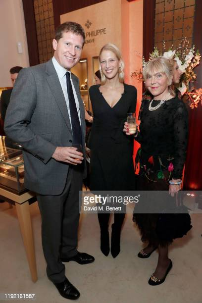 Charlie Pragnell, Lady Gabriella Windsor and Rosemary Morritt attend the launch of the Pragnell collection created in collaboration with Lady Emily...