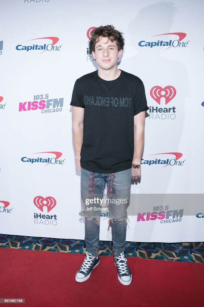 Charlie Puth attends 103.5 KISS FM's iHeartRadio Jingle Ball 2017 on December 13, 2017 in Chicago, Illinois.